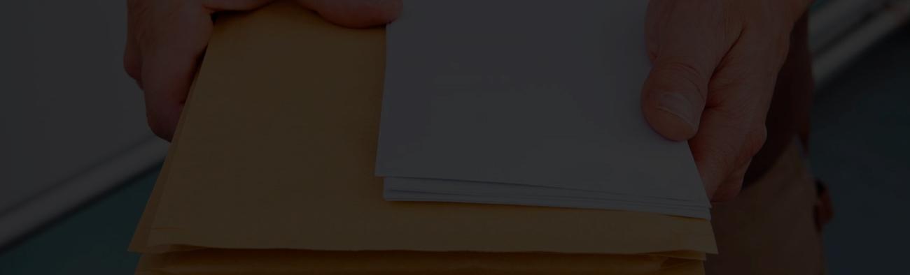 mensajería de documentos
