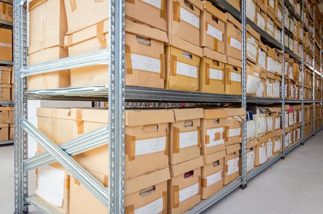 Almacenamiento de archivos y el tiempo de conservación para documentos