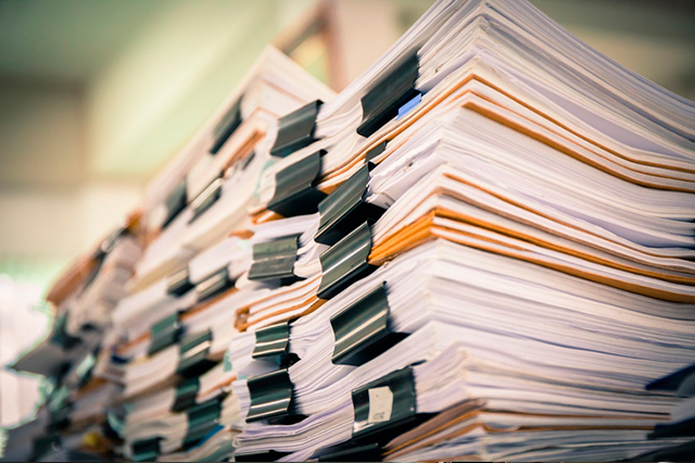 ¿Qué clase de ficheros conformanel archivo muerto?